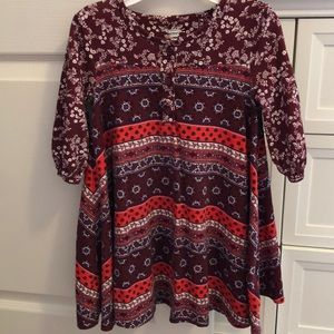 Tunic style top or dress!